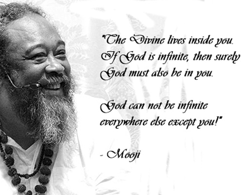 Weekly Inspiration from Mooji Satsang at La casa Shambala
