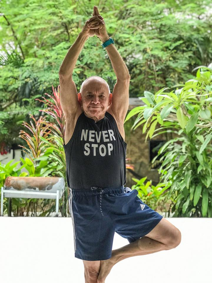 Never Stop!  Yoga is for all ages